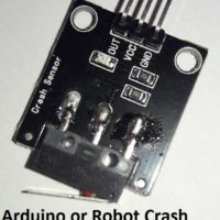 Crash Collision Sensor Module with Switch for Arduino Smart Robot 2