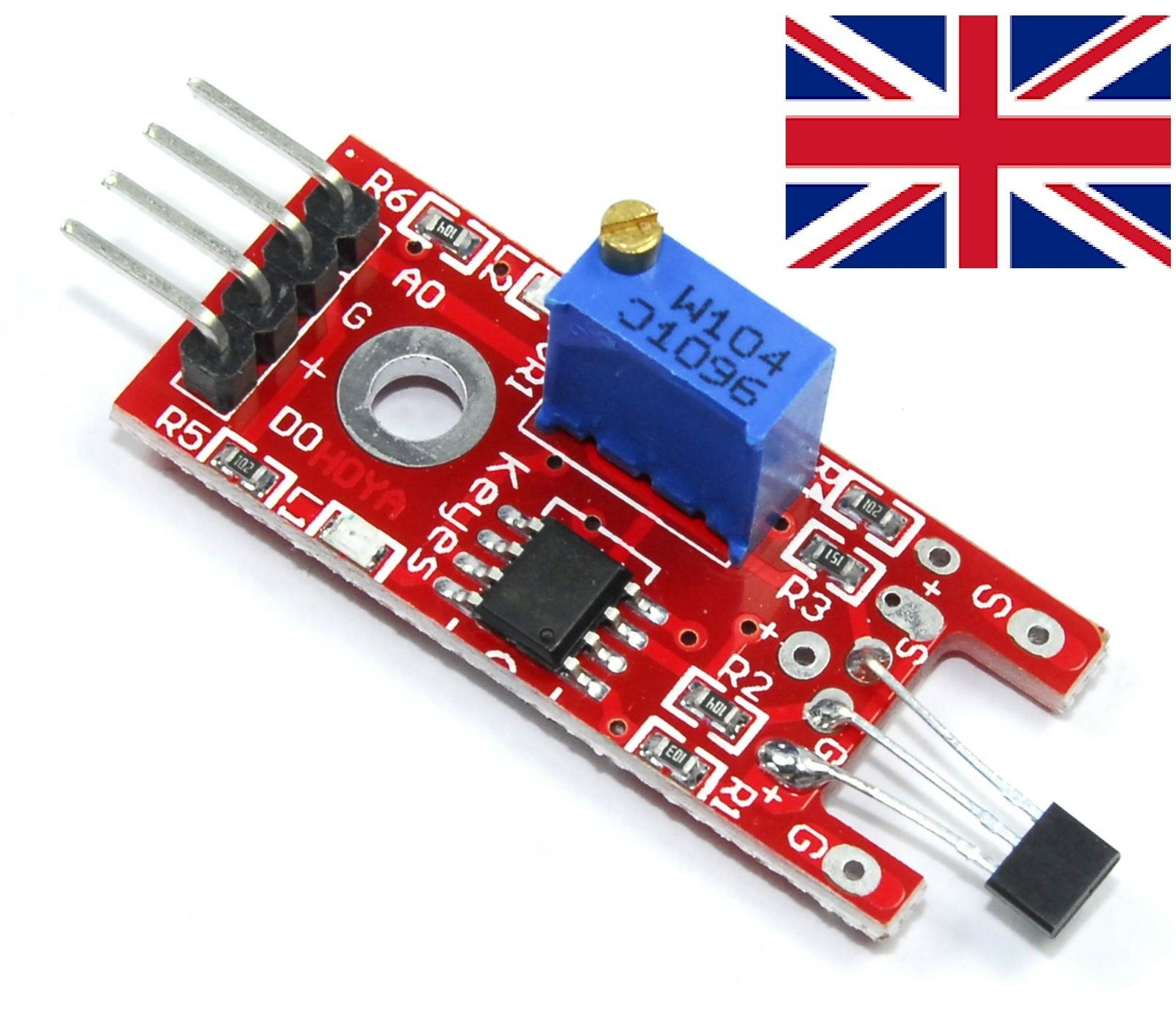 KY-024 Linear Magnetic Hall Effect Sensor Module Holzer LM393 Arduino Pic  ARD49